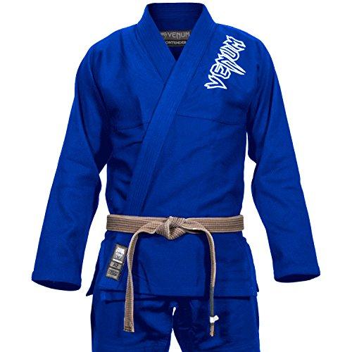 VENUM Contender 2.0 Kimono BJJ GI, Unisex Adulto, Azul, A2.5