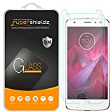 Supershieldz (2 Pack) for Motorola (Moto Z2 Force) Edition Tempered Glass Screen Protector, (Updated Version) Anti Scratch, Bubble Free