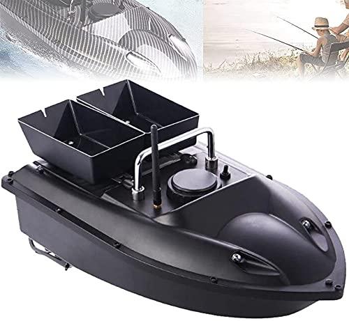HHORB Barco De Cebo De Pesca, Posicionamiento GPS De Barco RC, Barco De Cebo De Pescado 1,5 Kg Tanques De Carga GPS Barco De Cebo De Pesca RC 500m Cebo Bidireccional Retorno Inteligente