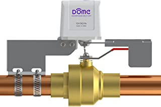 Dome Home Automation Water Shut-Off Valve - for Pipes up to 1 1/2