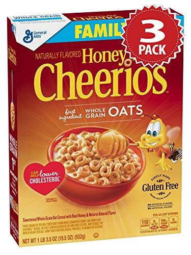 Cheerios Honey Nut Cereal - 3er Pack (3x553g)