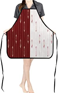 Jiahong Pan Durable Kitchen Two Trendy hipstere backgroun gems gem Stones Patterns Chef Apron for Cooking,Grill and BakingK17.7xG26.6xB9