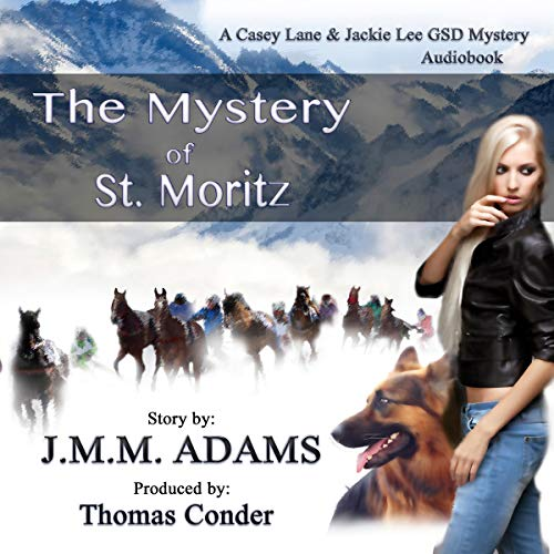 The Mystery of St. Moritz audiobook cover art