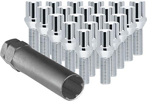 CECO Chrome Spline Drive Tuner Bolt Installation Kit