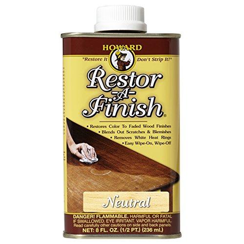 Howard Products RF1008 Restor-A-Finish, 8 oz, Neutral, 8 Fluid Ounces