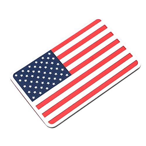 VOSAREA America Bandiera Auto Emblema Adesivo paraurti Distintivo Decal carrozzeria Decorazione (Rettangolare)