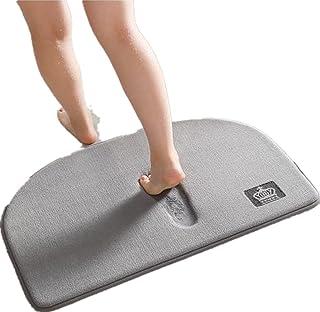 Memory Foam Non Slip Bathroom Mat, Super Soft Microfiber Bath Mat Machine Washable Super Absorbent Thick and Durable Bath ...