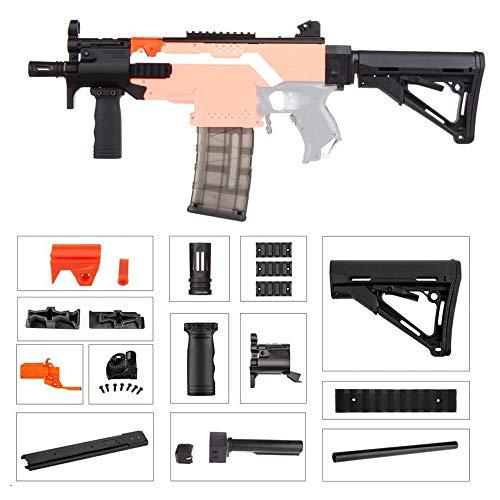 WORKER F10555 MP5-K A Style (Orange Adaptor) for Nerf N-Strike Stryfe