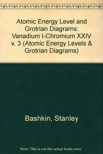 Atomic Energy Level and Grotrian Diagrams III (Atomic Energy Levels & Grotrian Diagrams S.)