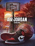 Air Jordan Coloring Book: 50+ Coloring Pages. Exclusive Artistic Illustrations for Fans of All Ages. This book provides plenty of space for playful, artistic creativity.