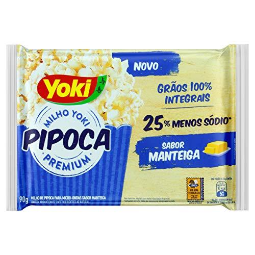 Popcorn Micro Manteiga Yoki 90g