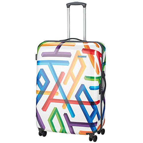 American Tourister 66550/2828 Jazz 2 Valigia, 94.5 litri, ABS, Multicolore