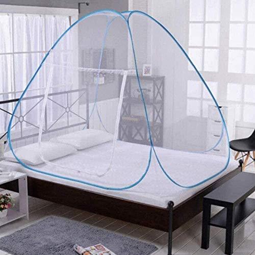 gengxinxin Moustiquaire De Lit De Lit Moustiquaire Universelle pour Lit Pliable Easy Bed Up Up Tent Installation Network Door Door for Ren Adults Single Door-180 * 200 * 150-100 * 190 * 110