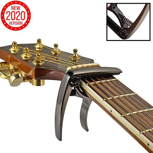 TAKIT Cejilla para Guitarra Acústica y Eléctrica - GARANT