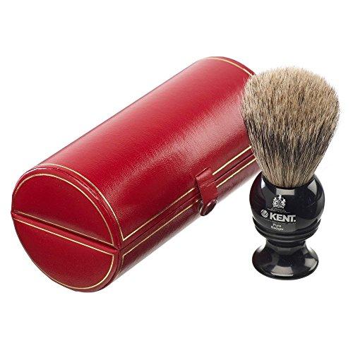 Kent Brushes Pure Badger Brocha De Afeitar (BLK2)