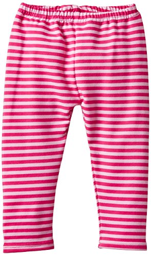 Eltern by Salt & Pepper Baby-Mädchen E Leggins Fresh Fox stripes Legging, Rosa (bright rose 811), Herstellergröße: 68