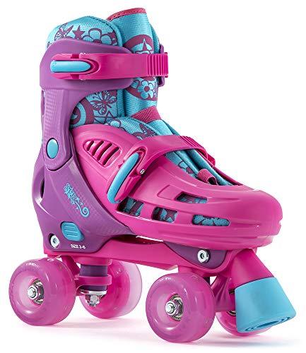 SFR Hurricane Lightning Adjustable Kids Quads Pink