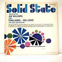Presenting Joe Williams, Thad Jones & Mel Lewis with The Jazz Orchestra