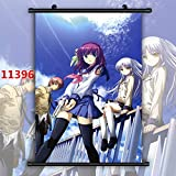 For Anime Angel Beats Nakamura Yuri Wallscroll Poster