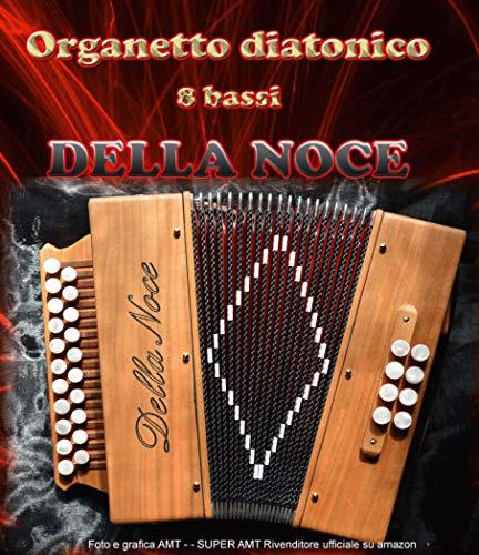 organetto Acordeón diatónico 8bajos La Nogal Mod. Studio 2