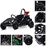 FITRIGHT 2020 79cc 2.5 HP, 4 Stoke Go Kart, Racing Go Cart for Kids with Foot Pedal and Foot Break....