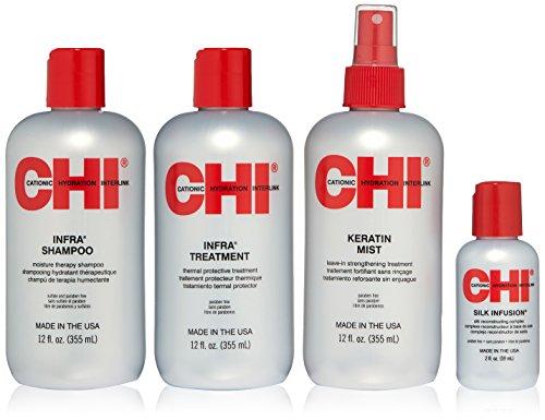 CHI Infra Home Stylist - Kit De 4