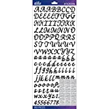 Sticko E5290149 Alphabet Stickers, Black Script