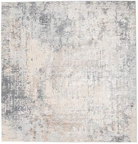 RugVista Ritz - Hellgrau/Beige Teppich 250x250 Orientalischer, Quadratisch Teppich