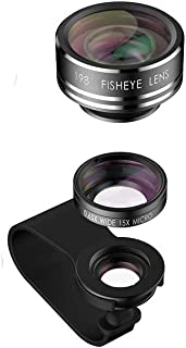 Mobile Phone Lens Compatible With All Kinds Of Phones - Black
