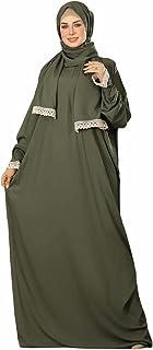 Religion prayer dress for woman / olive