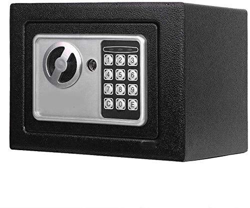 ESKONI Durable Digital Electronic Safe Box Keypad Lock Home Office Hotel Gun Black