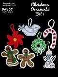 Crochet Pattern Christmas Tree Ornament Set PA867-R (English Edition)