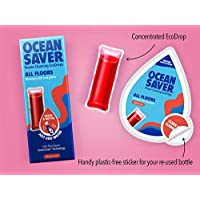 Oceansaver Cleaning EcoDrop | All Purpose Floor Cleaner | Rhubarb Coral | Eco Friendly Cleaning Product