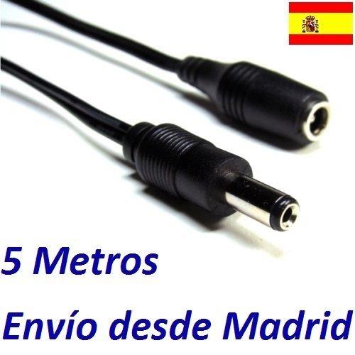 Cable Alargador Alimentacion CCTV Seguridad 5 Metros Camara IP Tenvis IP602W