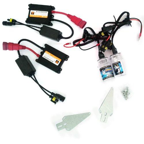 Area 11725 Kit d'ampoules au Xénon HID H7 6000 K 35 W pour voiture Blanc