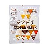 HARIO (ハリオ) ラブドリ コーヒーフィルター 1~4人用 20枚入 ホワイト マルチ VCFL-02-20W