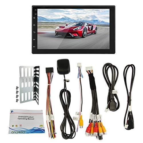 Jaimenalin Android 10 Universal 2 DIN 7 Pulgadas Coche Stereo Radio GPS WiFi Player para Beetle Toyata CR-V