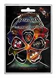 Metallica 5púa unidades púas para guitarra