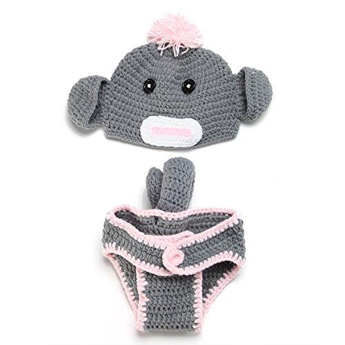PEPEL Costume(Gray) belle infantile bébé-photographie-Prop