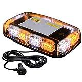 VKGAT 36 LED Roof Top Strobe Lights, Emergency Hazard Warning Safety Flashing Strobe Light Bar for Truck Car,...