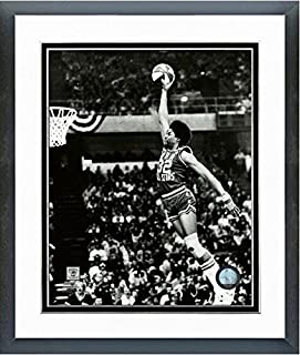 Julius Erving (Dr. J) New York Nets 1976 Slam Dunk Contest Action Photo (Size: 12.5