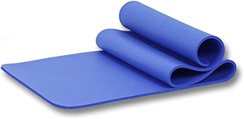 LiuJianQin YJD Tapis de Yoga antidérapant Tapis d'exercice Plus épais Tapis de Fitness en Plein air   173  61cm (Couleur   Bleu, Taille   Thickness10MM)