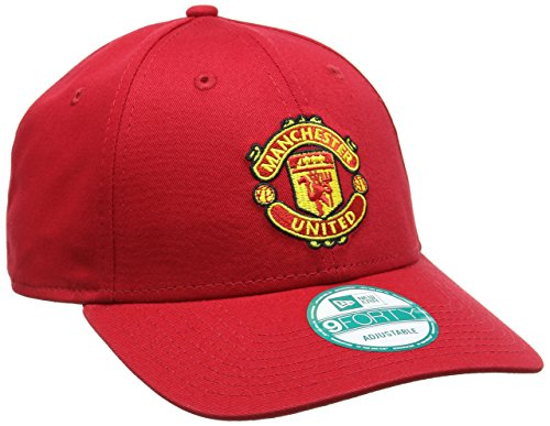 New Era 9forty Manchester United Cap Casquette de Baseball Homme, Rouge-Red (Team), Taille Unique