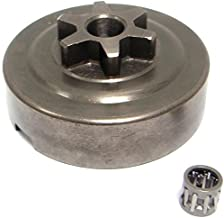 SPERTEK 3/8 Inches 6T Chainsaw Clutch Drum Assembly for Echo Cs-310 with Bearing