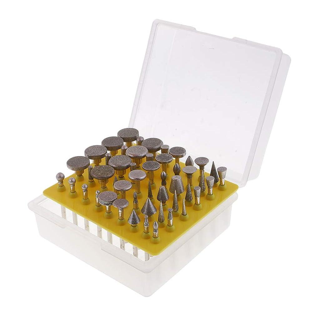 アライメント細いバングラデシュ研削ヘッド ダイヤモンドカッター 切断用刃 ケース付き 高品質 材料 長寿命