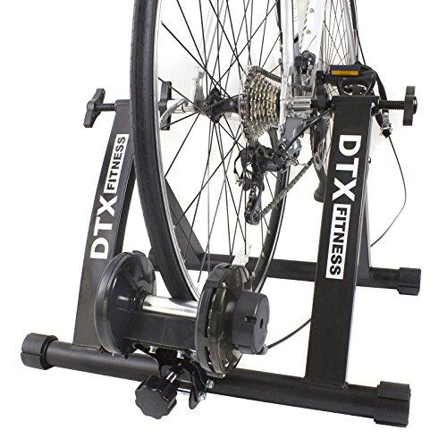 DTX Fitness Entraineur Turbo Réglable pour Vélo - Noir - Utilisez Votre Vélo Comme Vélo...