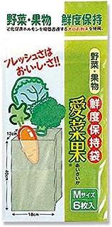 愛菜果 M 30枚 (6枚入り×5袋)野菜・果物 鮮度保持袋