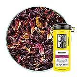 Tiesta Tea - Fireberry, Loose Leaf Cranberry Hibiscus Rooibos Tea, Non-Caffeinated, Hot & Iced Tea, 5 oz Tin - 50 Cups, Natural Flavored, Hibiscus Rooibos Tea Loose Leaf