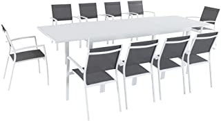 Best 11 piece dining set white Reviews
