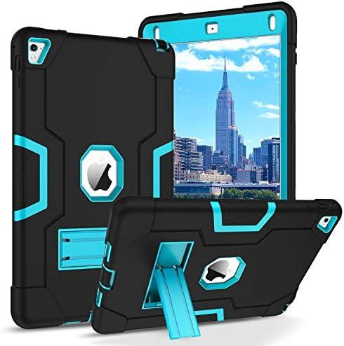 BENTOBEN iPad Air 2 Case iPad Pro 9 7 2016 Case 3 Layers Hybrid Heavy Duty Rugged Shockproof product image
